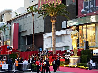 The red carpet at the intersection of Hollywood and Highland during the 81st Academy Awards Ceremony. Photo: BDS2006 Wikipedia